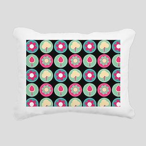 Beautiful Trendy Girly F Rectangular Canvas Pillow