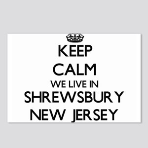 Keep calm we live in Shre Postcards (Package of 8)