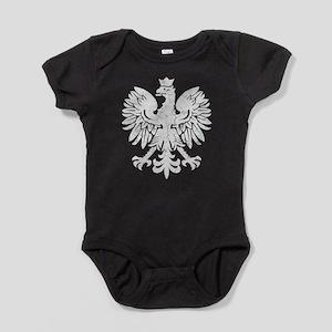Polish Flag Eagle Baby Bodysuit