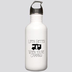 Life's Better Camping Water Bottle