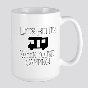 Life's Better Camping Mugs