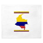 Colombia es pasion King Duvet