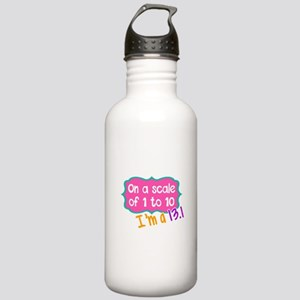 I'm a 13.1 Pink Stainless Water Bottle 1.0L