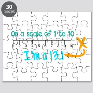 Scale of 1 to 10 Puzzle