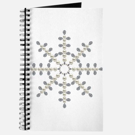 winter snowflake Journal