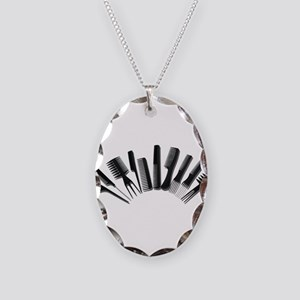 Combs122410 Necklace Oval Charm
