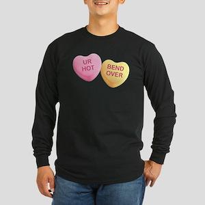 UR HOT - BEND OVER - Candy Hea Long Sleeve T-Shirt