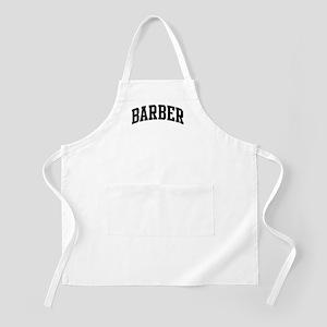 BARBER (curve-black) BBQ Apron