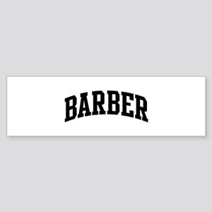 BARBER (curve-black) Bumper Sticker