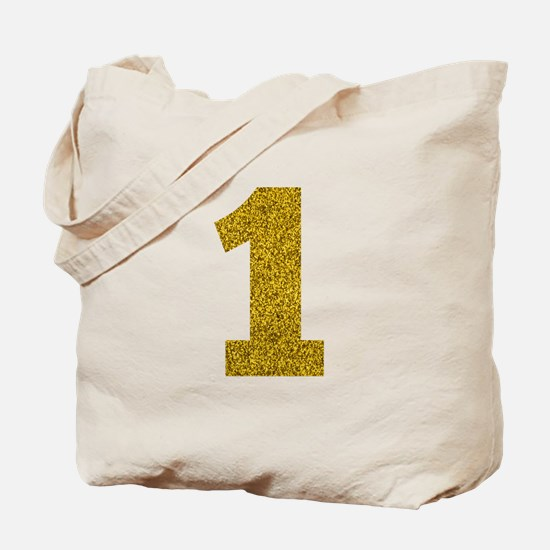 Number 1 Tote Bag