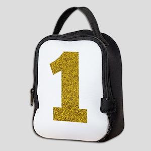 Number 1 Neoprene Lunch Bag
