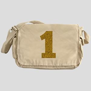 Number 1 Messenger Bag