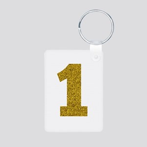 Number 1 Keychains