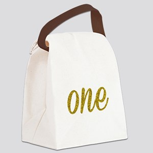 One Script Canvas Lunch Bag