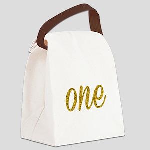 One Script Canvas Lunch Bag