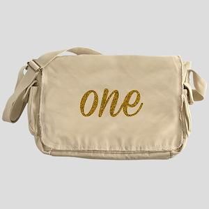 One Script Messenger Bag