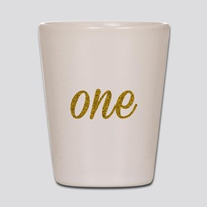 One Script Shot Glass