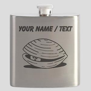 Custom Clam Flask