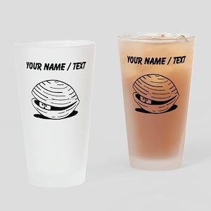 Custom Clam Drinking Glass