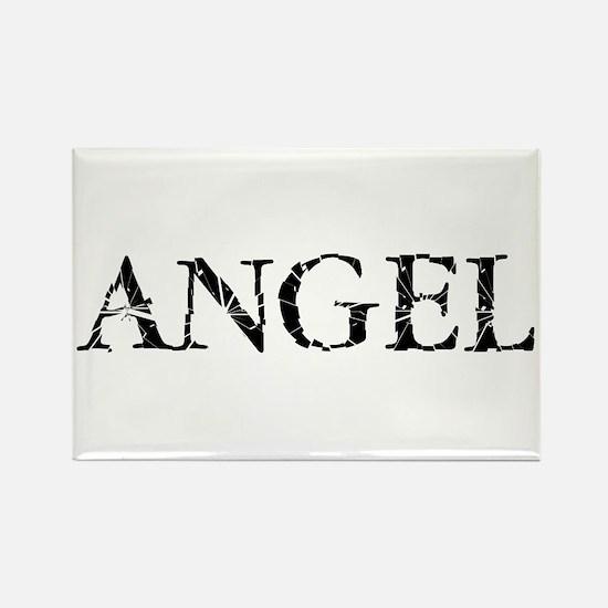 Broken Angel Rectangle Magnet
