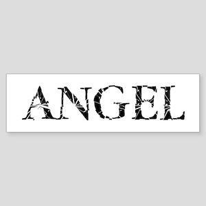 Broken Angel Bumper Sticker