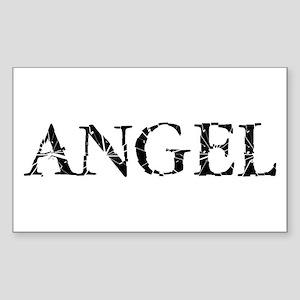 Broken Angel Rectangle Sticker