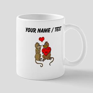 Custom Chipmunks In Love Mugs
