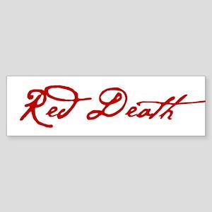 Red Death Bumper Sticker