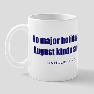No August Holidays 01 Mug