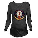 USS DELONG Long Sleeve Maternity T-Shirt