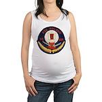 USS DELONG Maternity Tank Top