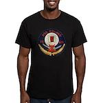 USS DELONG Men's Fitted T-Shirt (dark)