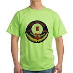USS DELONG Green T-Shirt