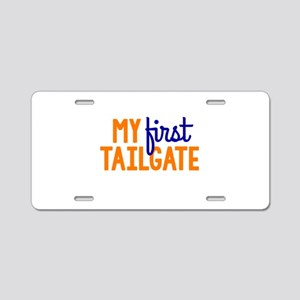 My First Tailgate Aluminum License Plate