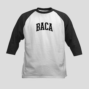 BACA (curve-black) Kids Baseball Jersey