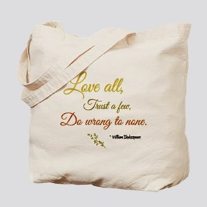 Love All ... Tote Bag