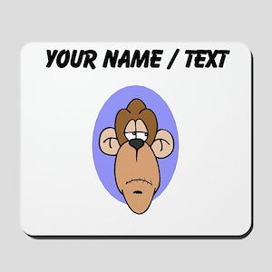 Custom Chimp Face Mousepad