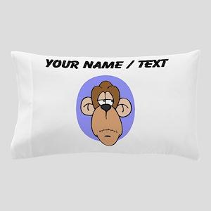 Custom Chimp Face Pillow Case