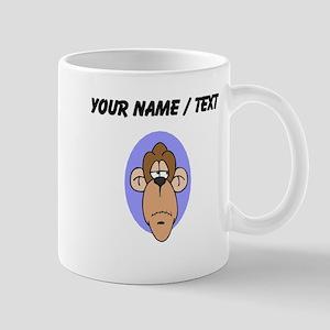 Custom Chimp Face Mugs