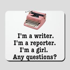 pinktypewriterback Mousepad