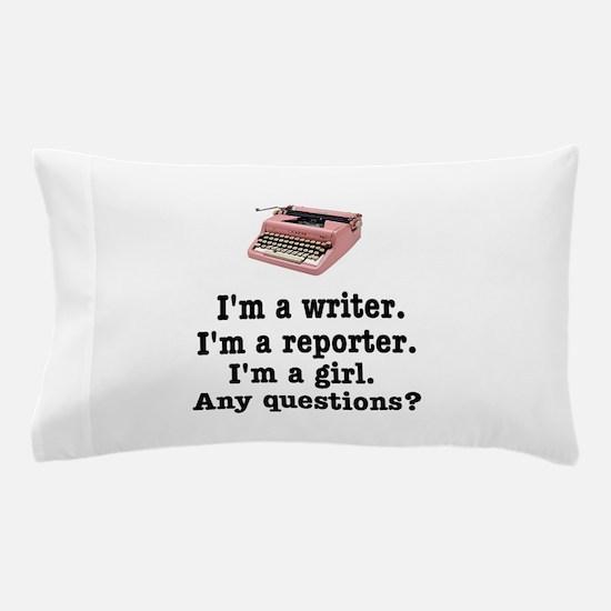 pinktypewriterback.jpg Pillow Case