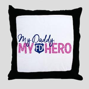 FD Hero Throw Pillow