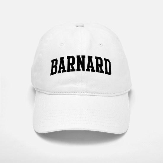 BARNARD (curve-black) Baseball Baseball Cap