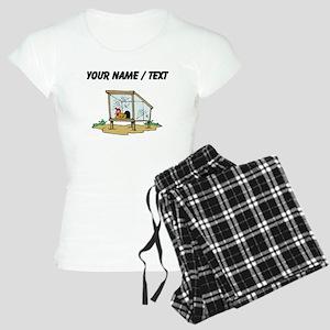 Custom Chicken Coop Pajamas