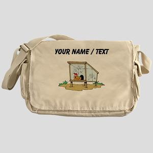 Custom Chicken Coop Messenger Bag