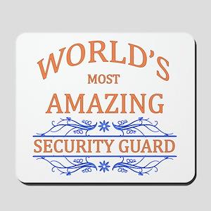 Security Guard Mousepad