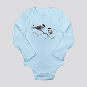 chickadee song bird Body Suit
