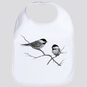 chickadee song bird Bib