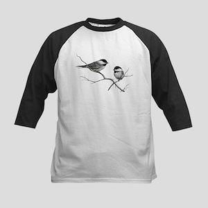 chickadee song bird Baseball Jersey