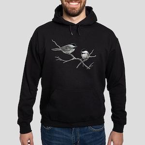chickadee song bird Hoodie